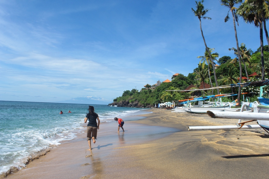 Suasan Pantai Nglipah